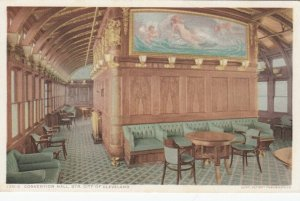 STEAMER  City Of Cleveland, D. & C. Line, 1900-10s ; Convention Hall