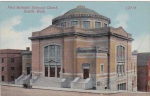 Washington Seattle First Methodist Episcopal Church 1915