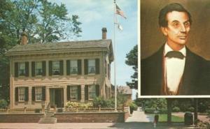 Home of Abraham Lincoln, Springfield Illinois unused Post...