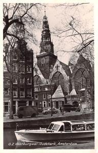 Amsterdam Holland OZ Voorburgwal Oudekerk Amsterdam OZ Voorburgwal Oudekerk