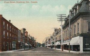 STRATHROY, Ontario, Canada, PU-1910; Front Street
