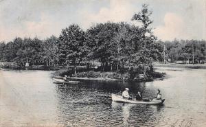 Sunset Lake, Asbury Park, N.J., 1907 Postcard, Used, Ocean Grove Cancel