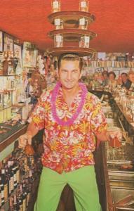 Rin Tin Bar Bob Bingo Bavootski Omaha City Postcard