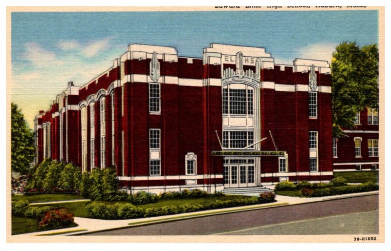 Maine  Auburn  Edward Little High School