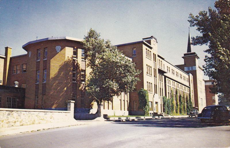Ecole Technique , RIMOUSKI , Quebec , Canada, 50-60s