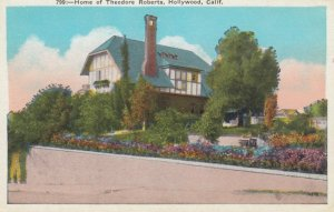 LOS ANGELES, California, 1900-10s; Home of Theodore Roberts, Hollywood