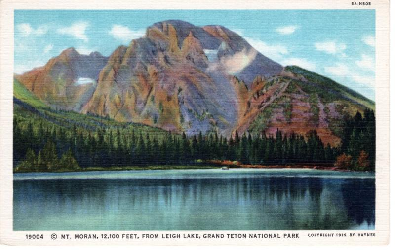 YELLOWSTONE NATIONAL PARK Haynes Linen Series. 19004.