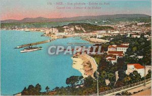 Postcard Old Nice between general port