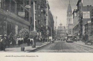 PHILADELPHIA , Pennsylvania , 1901-07 ; Market Street , West from 10th
