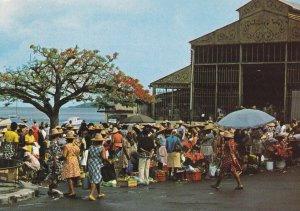 GUADELOUPE - Saint-Pierre , The Market , 50-70s
