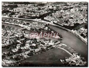 Postcard Modern Sense Vue Generale and I & # 39lle Yonne