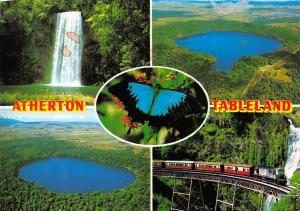 Australia The Atherton Tableland North Queensland multiviews Millaa Falls Lake