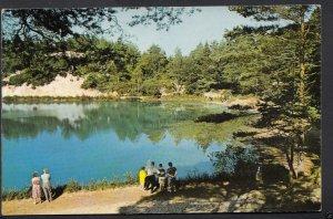 Dorset Postcard - The Blue Pool, Wareham    A8933