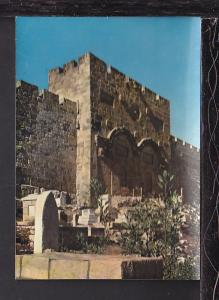 Golden Gate,Jerusalem,(Jordan) Israel Postcard BIN
