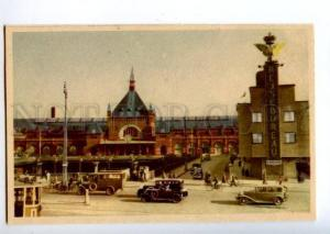 155897 DENMARK COPENHAGEN railway station Vintage postcard
