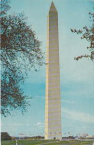 Washington D C The Washington Monument 1966