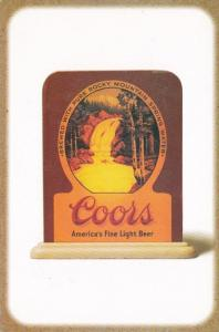 Colorado Golden Coors Brewing Company Lighted Sign Circa 1940s