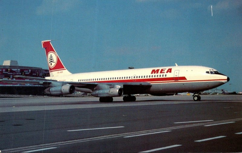 MEA Middle East Airlines Boeing B-720-023B At Roissy Airport Paris France