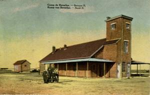 Belgium - Camp Beverloo. Barracks (WWI)