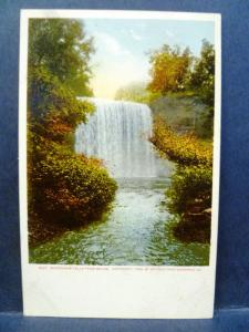 Postcard WI Minnehaha Falls 1905 Detroit Photographic Company