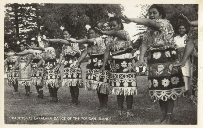 RP: TONGA , 1920-30s ; Girls , Lakalaka Dance