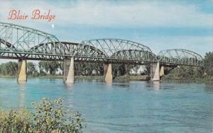 Blair Bridge, near Blair, Missouri River, Nebraska, 40-60s
