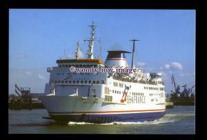 SIM0259 - SeaFrance Ferry- SeaFrance Renoir ,built 1981 ex Cote D'Azur postcard