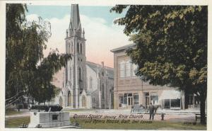GALT , Ontario , 1910s ; Knox Church , Opera house on Queens Square