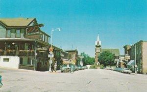 NEW GLARUS , Wisconsin, 1950-60s ; Street