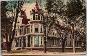 Weltmer Institute, Nevada Missouri Vintage Postcard M04