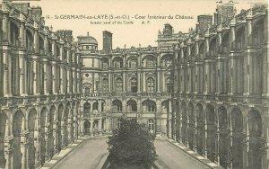 Postcard St-Germain-en-Laye