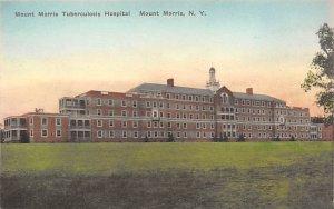 Hospitals Post Card Mount Morris Tuberculosis Hospital Mount Morris, New York...