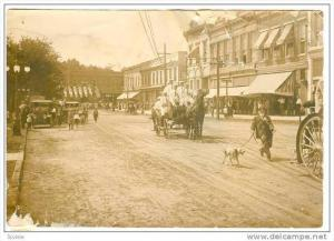 RP, Parade For Firemen, Anderson Fire Dept. Wagon, Drug Store/Pharmacy, Ander...