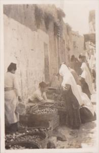 Jordan Bethlehem Market Place Real Photo