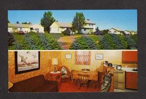PEI LePage Resort Motel Cavendish Prince Edward Island Postcard Carte Postale