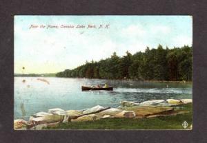 NH Flume Canobie Lake Park NEW HAMPSHIRE POSTCARD PC