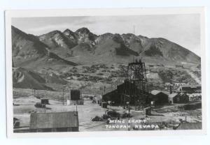RP A Mine Shaft at Tonapah Nevada NV