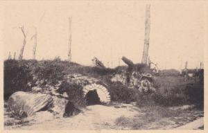 Improvised Shelter, The Nieuport Redan, NIEUWPOORT (West Flanders), Belgium, ...