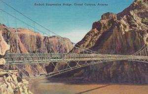 Arizona Grand Canyon Kaibab Suspension Bridge Curteich