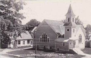 Maine North Anson Methodist Church Real Photo RPPC