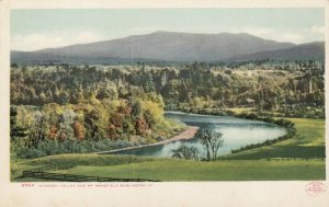 BURLINGTON, Vermont, 1901-07; Windooski Valley and Mt. Mansfield