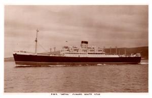 R.M.S. Media , Cunard White Star  , RPC