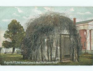 Pre-1907 HOLLAND LAND COMPANY VAULT Mayville In Chautauqua by Jamestown NY F0149