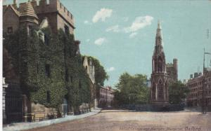 OXFORD, Oxfordshire, England, 1900-1910's; Balliol College And Martyrs' Memorial