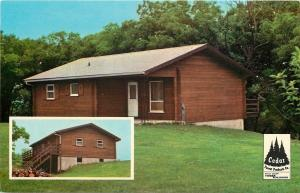 Polo Illinois~Greenwood~Home Floor Plan Back~Cedar Forest Products Co~1950s