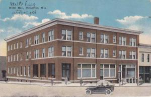 Exterior,  Hotel Hall,  Stoughton,  Wisconsin,   PU-1919
