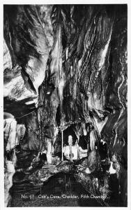 Cheddar, Cox's Cave, Fifth Chamber, Real Photograph