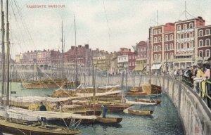 TUCK# 1482; RAMSGATE, Kent, England, United Kingdom; The Harbour, 1910 ; TUCK...