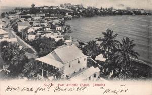 Port Antonio (East), Jamaica, Very Early Postcard, Used