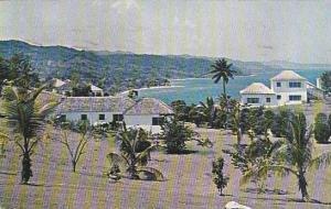 View Of Montego Bay, Jamaica, PU-1959